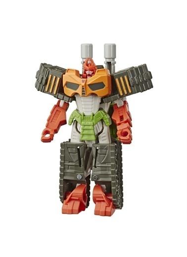 Hasbro Transformers Cyberverse Tek Adımda Dönüşen Figür - Bludgeon Action Attackers Renkli